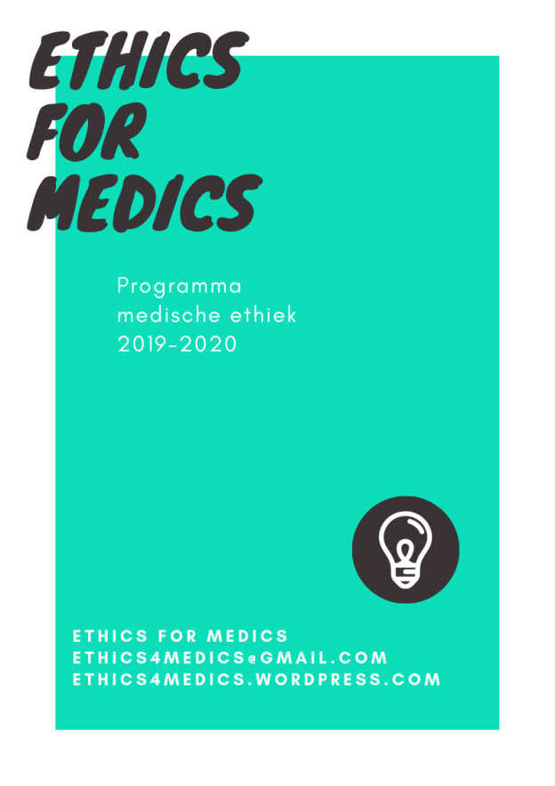 Ethics for Medics 2019-2020